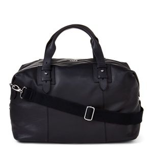 COLE HAAN Pebbled Leather Duffel